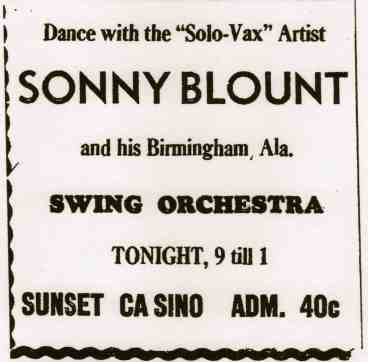 Sonny Blount Swing Orch