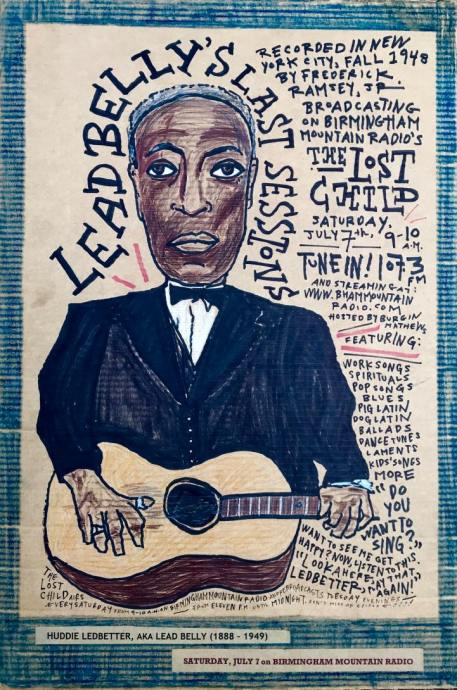 Lost Child LEADBELLY drawing