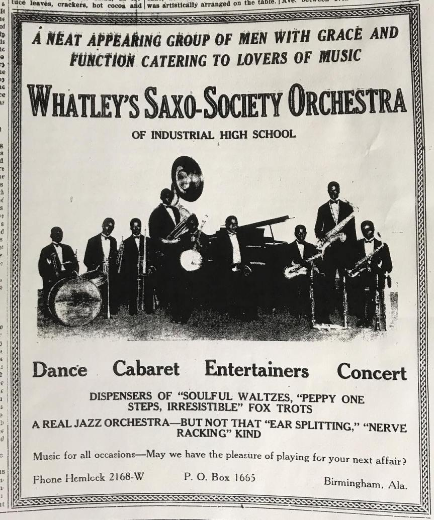 sax-o-society ad (photo)
