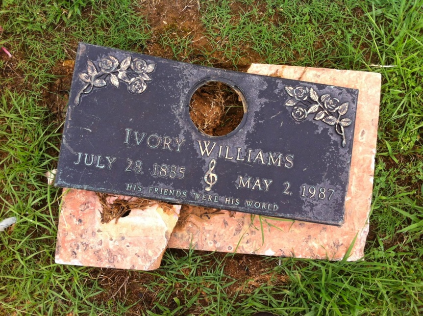 pops williams grave