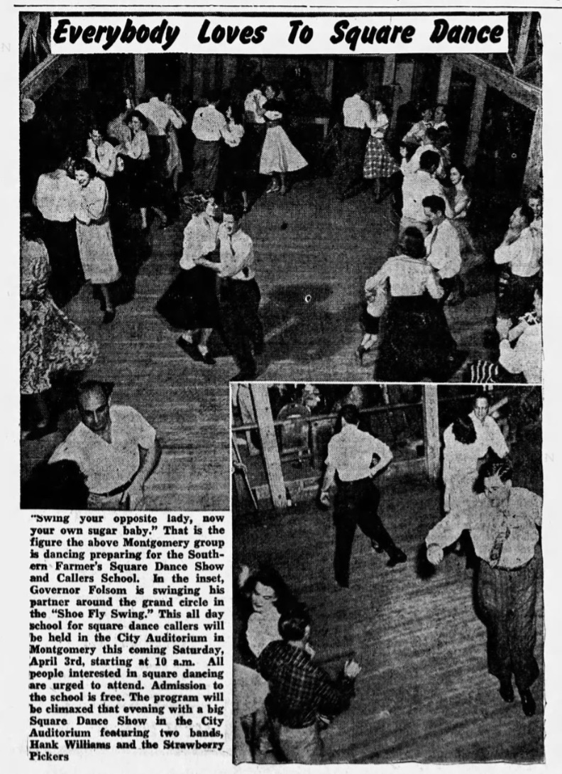 Big Jim square dance