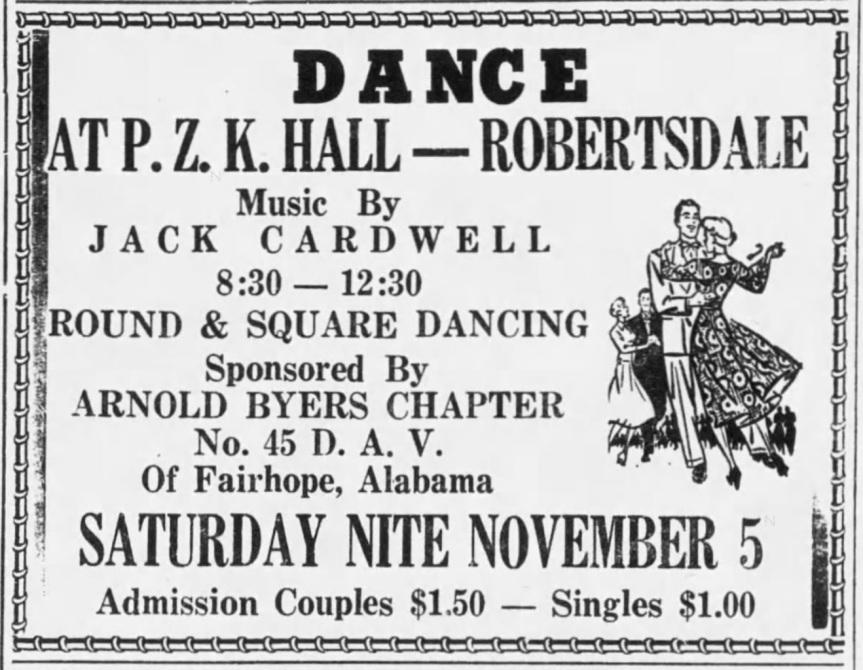 Jack Cardwell dance