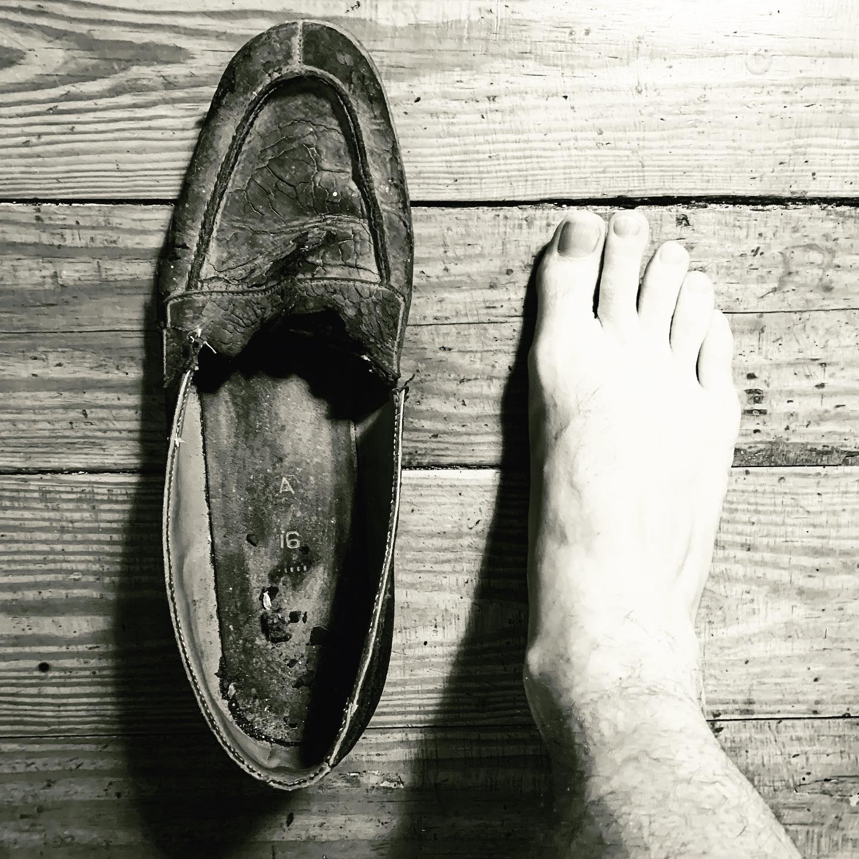 Big Jim's shoe
