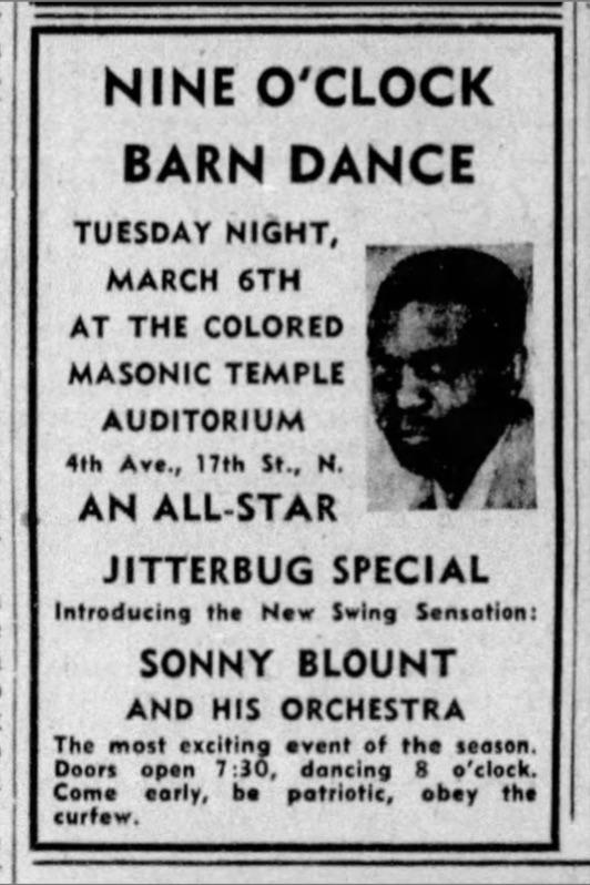 Sonny Blount Barn Dance 1945