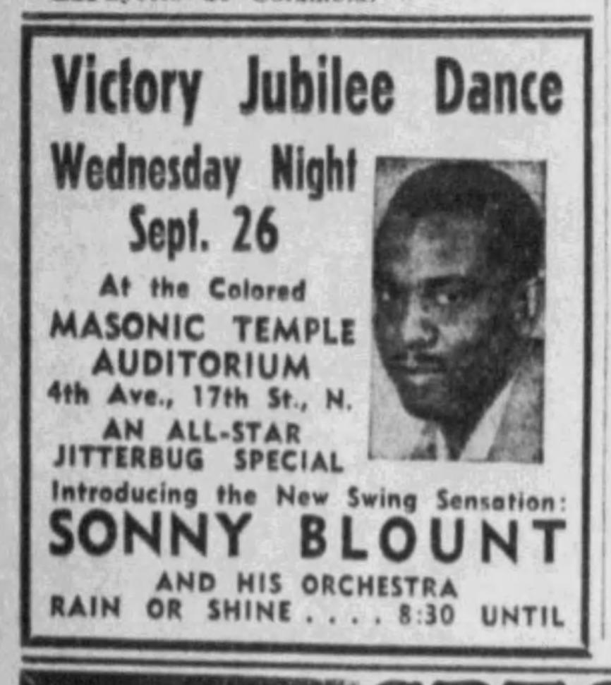 Sonny Blount Victory Dance 1945